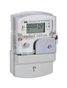 Электросчетчик Ник 2102-01 Е2Т двухзонный однофазный(Аналог Ник 2102 01 Е2СТ, Е2МСТ, НИК 2100.АР2Т.1000.С.11 )
