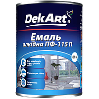 Эмаль алкидная ПФ-115П DekArt синяя - 2,8 кг