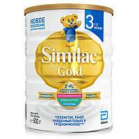 Высокоадаптированная базовая детская молочная смесь Симилак Голд 3 800 г