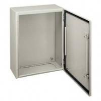Шкаф металлический CRN В1000 Х Ш800 Х Г300 + монтажна плата