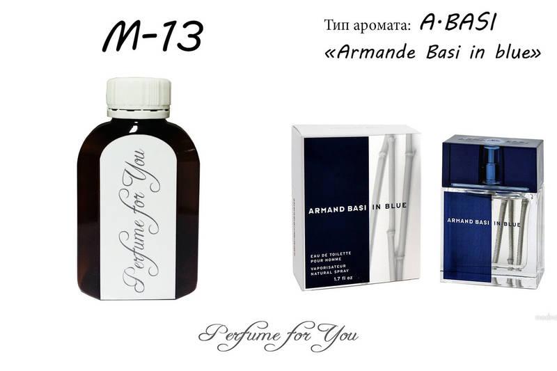 Мужские наливные духи Armande Basi in blue Armand Basi