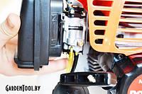 Как заводить двигатель бензинового триммера?