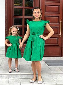 Платье детское. Ткань прошва с подкладом. Размер 86-92, 98-104, 110-116, 118-122