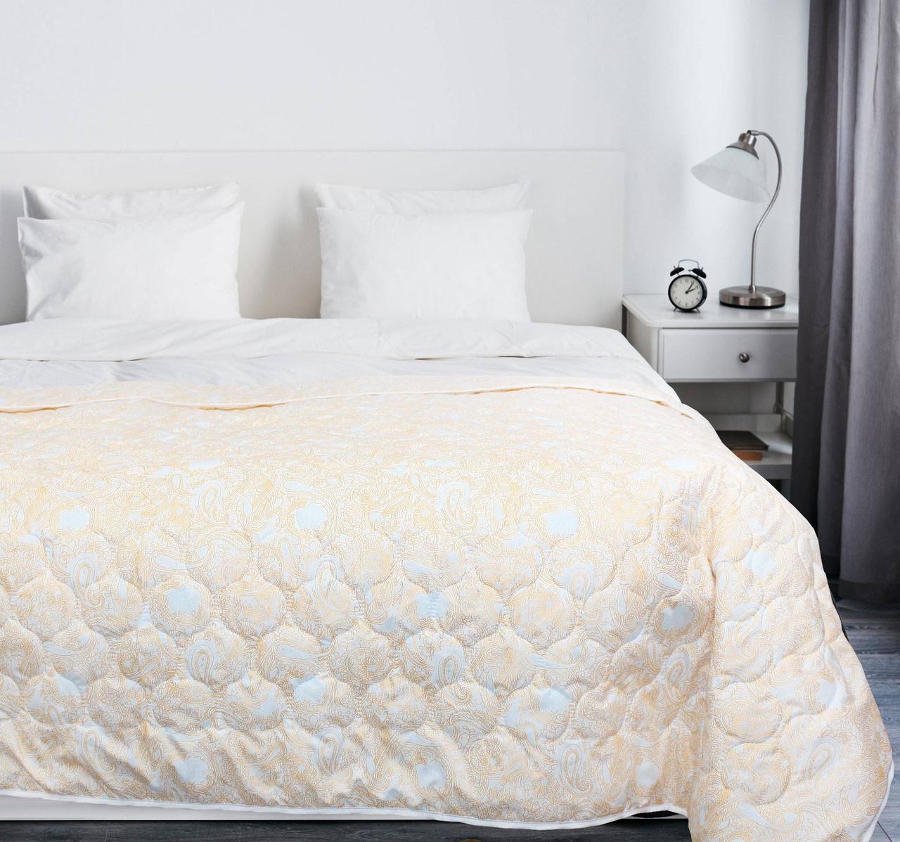 Покрывало на кровать, диван 145х210 хлопковое Персиковое