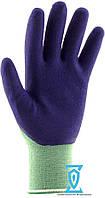 Перчатки рабочие стрейчевая покрытая вспененным латексом #398