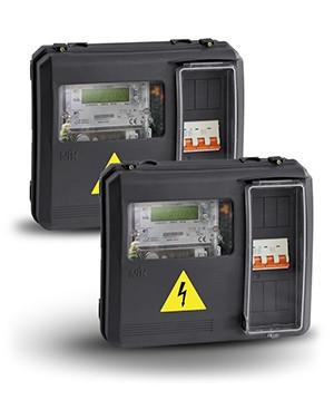 Ящик для электросчетчика DOT3.1 (выпуклый)