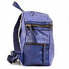 Рюкзак женский YES Weekend из полиэстера 30*27*15 см синий (554409), фото 3