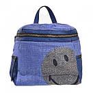 Рюкзак женский YES Weekend из полиэстера 30*27*15 см синий (554409), фото 5
