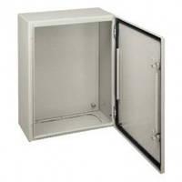 Шкаф металлический CRN В400 Х Ш300 Х Г200 + монтажна плата