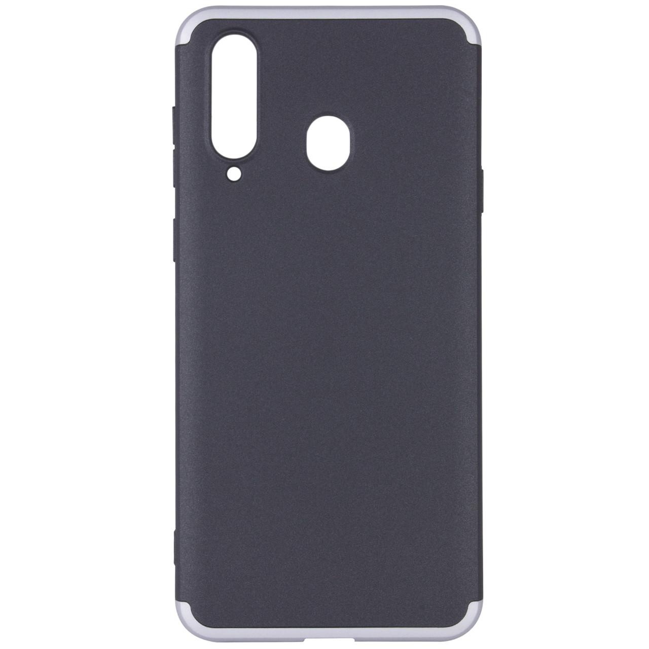 Пластиковая накладка GKK LikGus 360 градусов для Samsung Galaxy A8s Черный