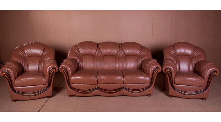 Стильний комплект меблів Медея (3+1+1)
