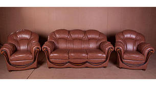 Стильний комплект меблів Медея (3+1+1), фото 2