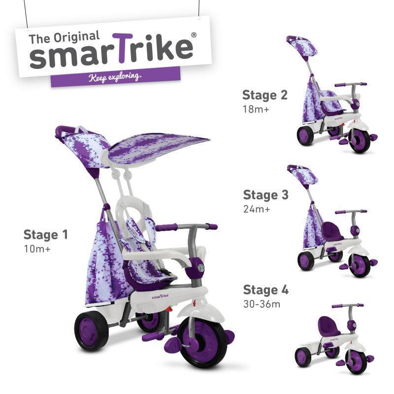 Трехколесный велосипед Smart Trike Spirit Violet (6752000)