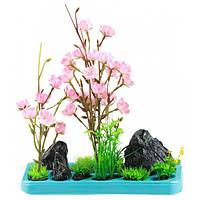 Искусственное растение для аквариума SunSun FZ 102