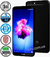 Смартфон Huawei P Smart 3/32Gb Black+Стекло защитное в подарок