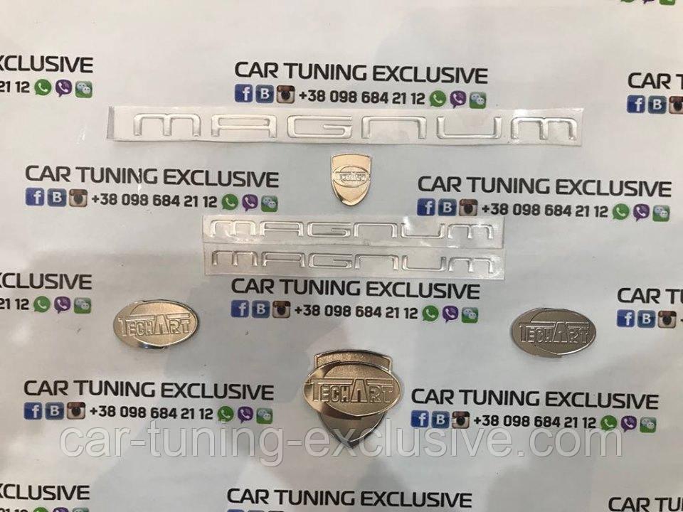 TechArt emblems for Porsche Cayenne 955, 957, 958