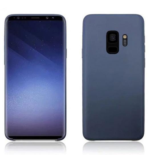 Силиконовый чехол Soft cover для Samsung Galaxy S9 Черный / Black