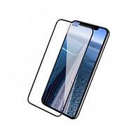 Защитное стекло на iPhone X/XS MAX Black 10D