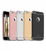 "Чехол iPaky Joint Series для Apple iPhone 6/6s plus (5.5"") Черный / Серебряный"