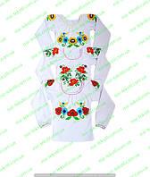 Вышиванка детская для девочки,комсомольский детский трикотаж от производителя,интернет магазин,интерлок