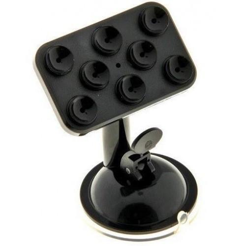 Держатель для телефона / навигатора с присосками UF 1-020 черный