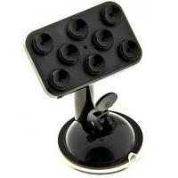 Держатель для телефона / навигатора с присосками UF 1-020 черный, фото 1