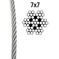 Трос нержавіючий 7X7 ART.-NR. 8379 A2 2мм 250 м.