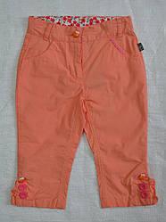 Детские летние брюки оранжевые (QuadriFoglio, Польша)
