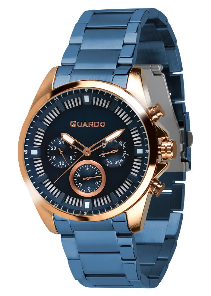 Часы мужские Guardo 011123-4 синие