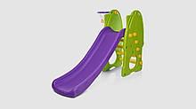 Горка детская. Длина 140 см. Фиолетово-Зеленого цвета