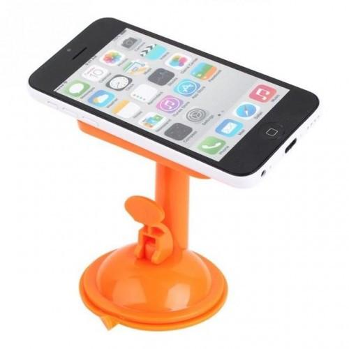 Держатель для телефона / навигатора с присосками UF 1-020 оранжевый