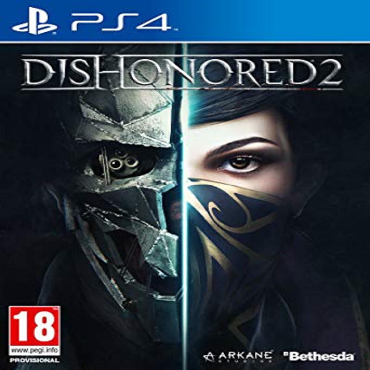 Dishonored 2 (англійська версія) PS4 (Б/В)
