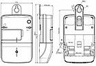 Электросчетчик NIK 2100 AP2T.1000.C.11 двухзонный однофазный (Аналог Ник 2102 01 Е2Т, Е2СТ), фото 5