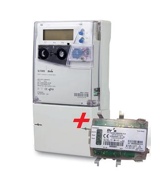Счетчик электричества SL 7000 к.т. 0.5s + модем Sparklet