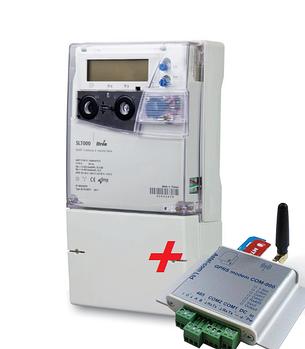 Счетчик электричества SL 7000 к.т 0.5S + модем COM-900-ITR