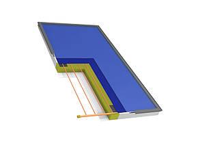 Плоский сонячний колектор Hewalex KS 2100 TP AC, фото 2