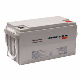Гелевий акумулятор LogicPower LPM-GL - 12 - 65 AH