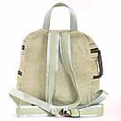 Рюкзак женский YES Weekend из полиэстера 30*27*15 см зелёный (554415), фото 4