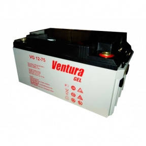 Гелевий акумулятор Ventura VG 12-75 Gel, фото 2
