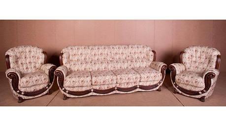 Комплект мебели Джозеф, мягкая мебель, мебель в ткани, тканевая мебель, комплект мебели, фото 2