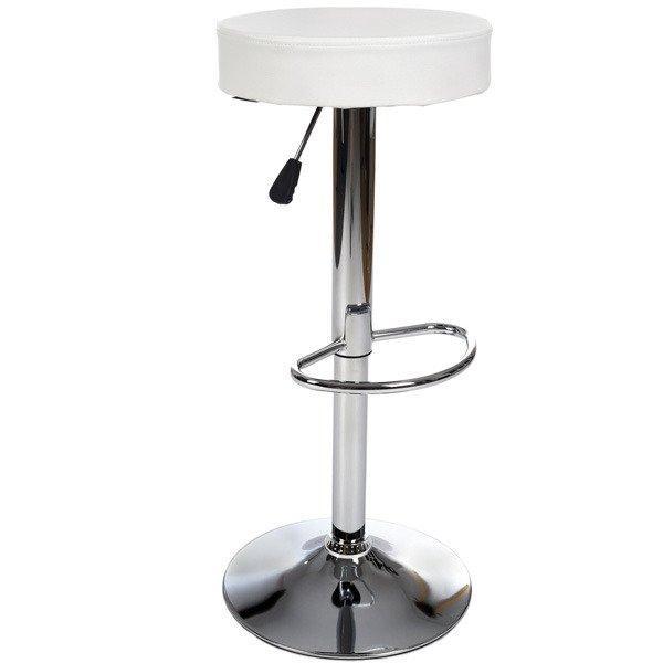 Стілець барний хокер Vecotti 022W білий (8052)