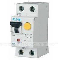 Дифференциальный автоматический выключатель EATON PFL6-10/1N/C/003