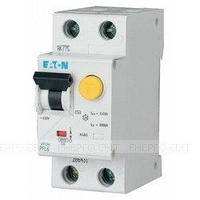 Дифференциальный автоматический выключатель EATON PFL6-25/1N/C/003