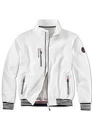 Оригинальная легкая мужская куртка BMW Yachtsport Jacket, Men, White (80142461041)