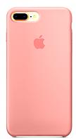 Силиконовый чехол для iPhone 7/8 plus, цвет «персик»