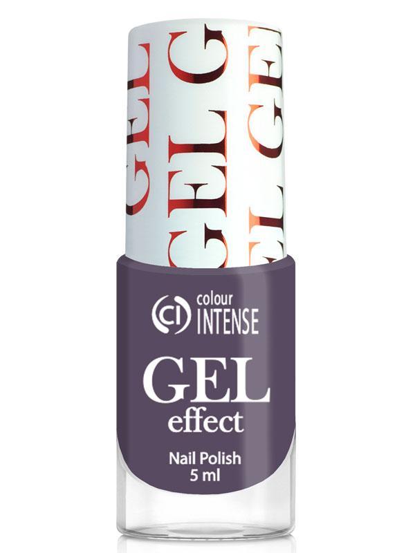 Лак для нігтів Gel Effect 035 Світлий баклажан Colour Intense