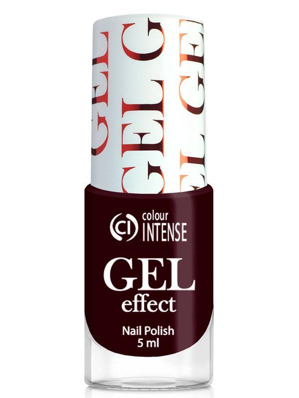 Лак для нігтів Gel Effect 038 Стиглий баклажан Colour Intense