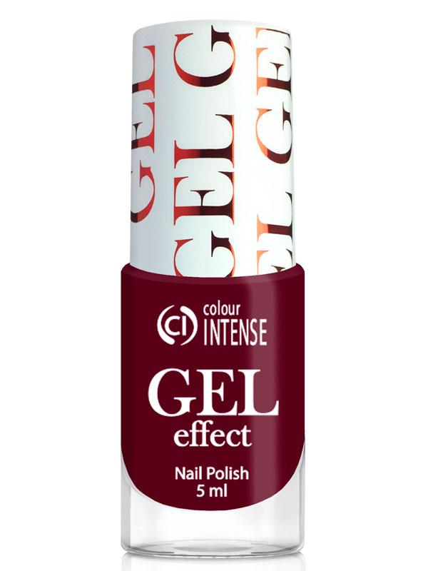 Лак для нігтів Gel Effect 039 Баклажановий Colour Intense