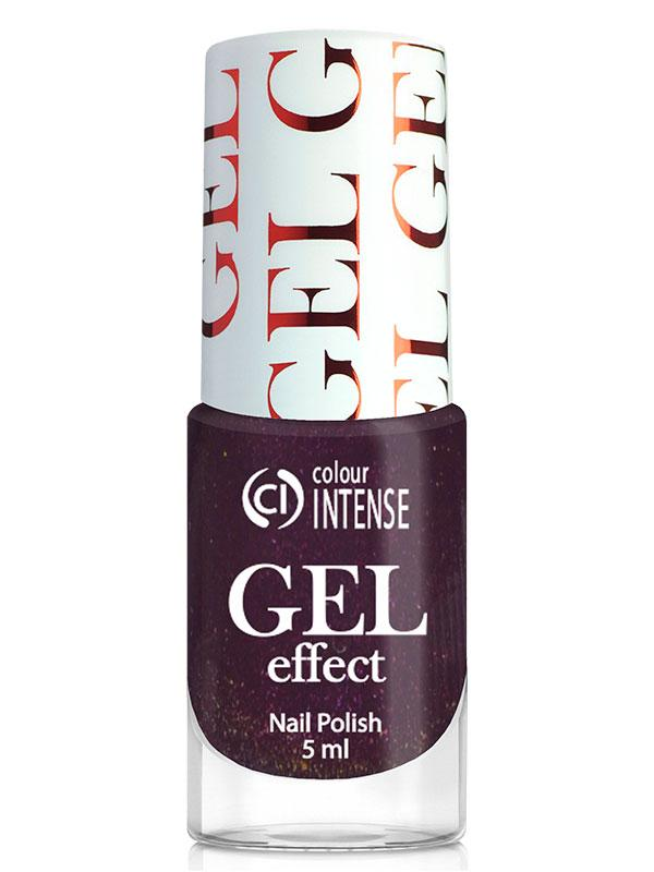 Лак длянігтів Gel Effect 040 Баклажан (шімер) Colour Intense