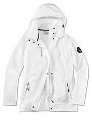Оригинальная женская куртка с капюшоном BMW Yachtsport Jacket, Ladies, White (80142461051)